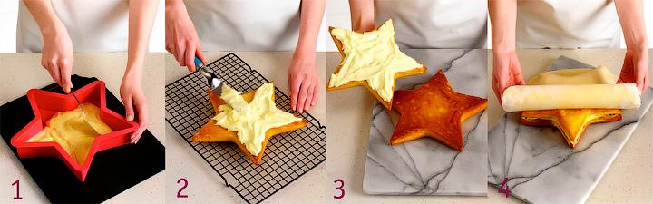 Как подготовить и собрать торт «Звездный взрыв»