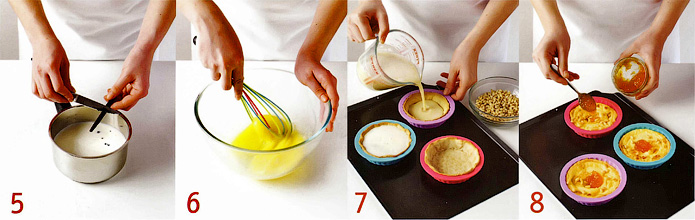 Как приготовить начинку и испечь корзиночки - Корзиночки с кремом