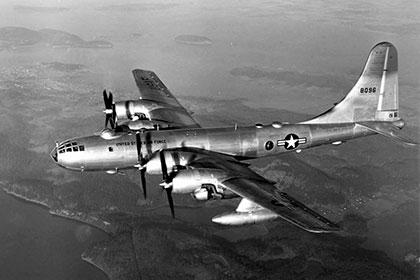 Бомбардировщик B-52G в полете