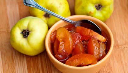 Варенье-цукаты из айвы - Консервированные в сиропе плоды айвы