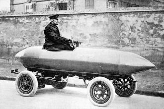 La Jamais Contente - Автомобильные рекорды скорости