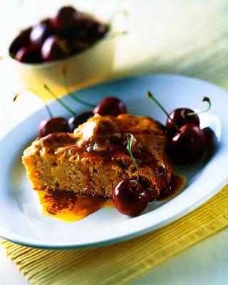 Пирог с медовым маслом