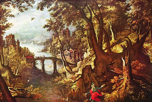 Ворон, кормящий пророка Илию в пустыне - Ильин день - Форум Сириус - торез