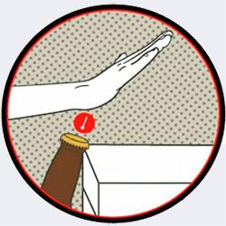 Сгодится и любая столешница - 20 способов открыть бутылку - Форум Сириус - Торез