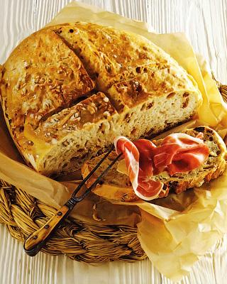 Спельтовый хлеб с фундуком