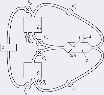 Схема системы с насосом-нейтрализатором - Чистый выхлоп - несложно и недорого. Жидкостно-струйный нейтролизатор выхлопных газов - Форум Сириус - Торез