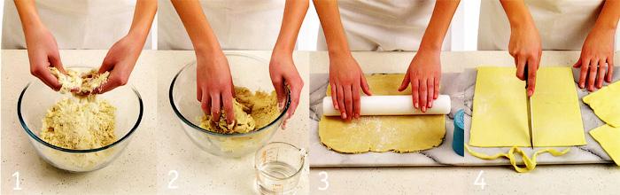 Как приготовить тесто и начинку - Пирожки с мясом и перцем