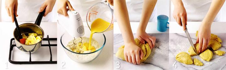 Как приготовить тесто для бриошей - Апельсиновые бриоши