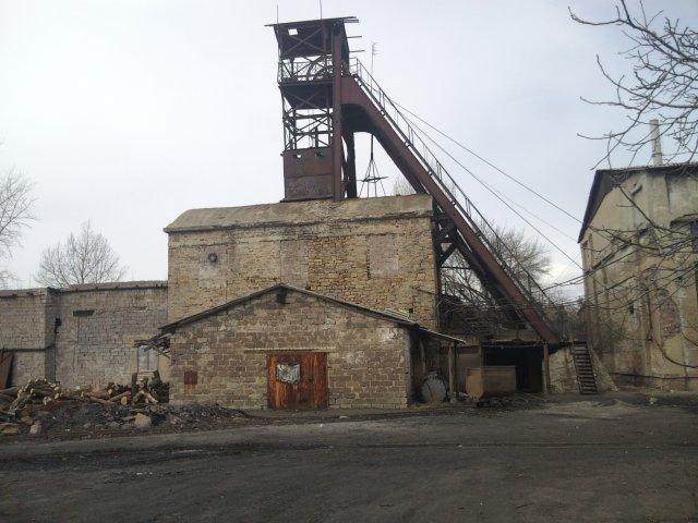 Шахта 3-БИС - Посёлок шахты 3-БИС. Город Торез