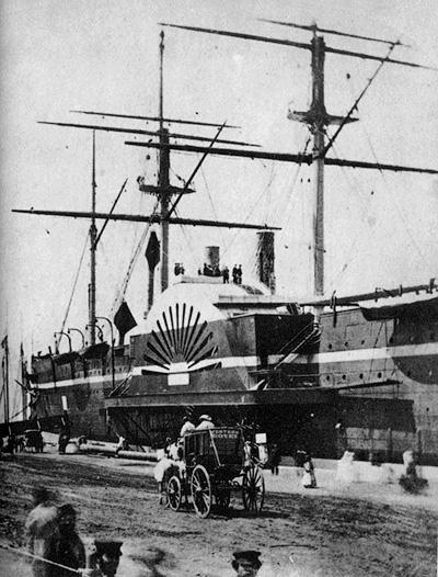 «Грейт Истерн» в порту Нью-Йорка - Связавший континенты. Телеграф на дне океана - Форум Сириус - Торeз