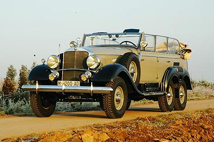 Модель: Mercedes-Benz G4 Год выпуска: 1934 - Модели авто для первых персон - шишковозы