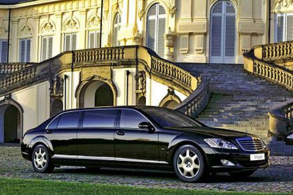 Mercedes-Benz S 600 Guard Pullman - Модели авто для первых персон - шишковозы