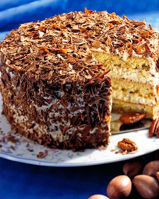 Торт «Гугенот»