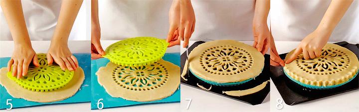 Сборка и выпекание пирога - Черничный пирог