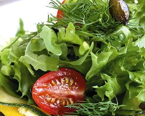 Салат из кабачков с тыквенными семечками - Кабачок - универсальный продукт