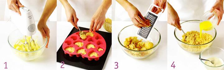 Как испечь бисквит и подготовить сердечки на палочках - Праздничные сердечки