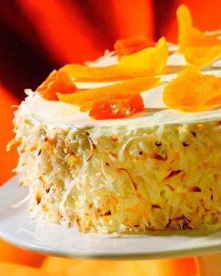 Кокосовый торт «Экзотика»
