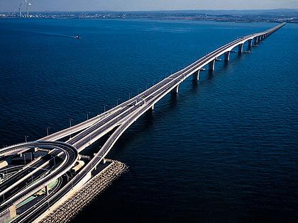 Мост Trans Tokio Bay Highway в Японии - Как остановить колебания мостов - Форум Сириус Торез