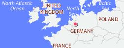 Рур  нем  Ruhr  – самая плотнозаселенная область Германии