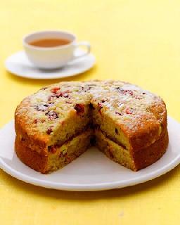 Шотландский малиновый торт