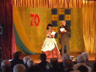 Приветствие ведущих Юбилей в Торезском Горном Техникуме им  А Ф  Засядько  70 лет