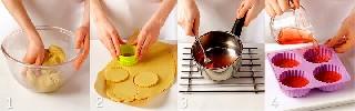 Приготовление печенья и прозрачного желе