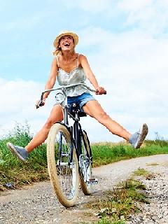 Велотренировка   очень полезный для пышек вид «уличного» кардиофитнеса