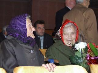 Гости  Бывшие Учителя горного техникума Юбилей в Торезском Горном Техникуме им  А Ф  Засядько  70 лет