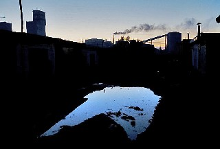 Первый визит на  Прогресс   шахта находится на востоке Украины    Carolyn Drake фоторепортаж о Торезе World Press Foto 2007