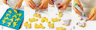 Выпекание и украшение   Печенье «Зверюшки»
