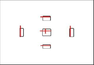 Положение сенсоров не в центре контура в видоискателя