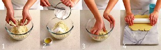 Как приготовить тесто для печенья   Печенье «Битое стекло»