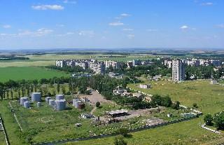Город Шахтёрск  Микрорайон Восточный и 8 й микрорайон
