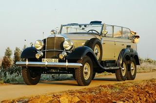 Модель  Mercedes Benz G4 Год выпуска  1934