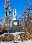 Памятник погибшим в лаве шахтёрам на посёлке «Лутугино» Торез