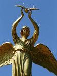 Добрый ангел мира  с не добрым видом