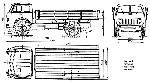Бортовой грузовой автомобиль МАЗ 500   Первые «бескапотники»   Автомобиль МАЗ 500