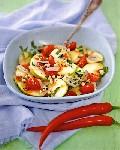 Салат из яблок в тайском стиле