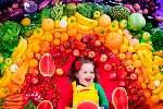 Радуга на тарелке  Почему нужно есть овощи и фрукты всех цветов радуги