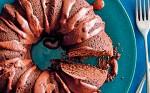 Шоколадно кофейный пирог с кремом ганаш