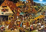 Питер Брейгель Старший  «Фламандские пословицы»  1559 год