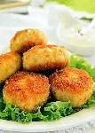 Картофельные пирожки с луком