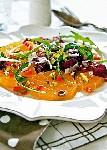 Фруктовый салат с зеленью