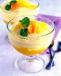 Десерт «Двойное манго»