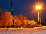 Фонтан в старом парке Тореза