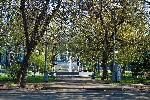 Фонтан в центральном парке Тореза